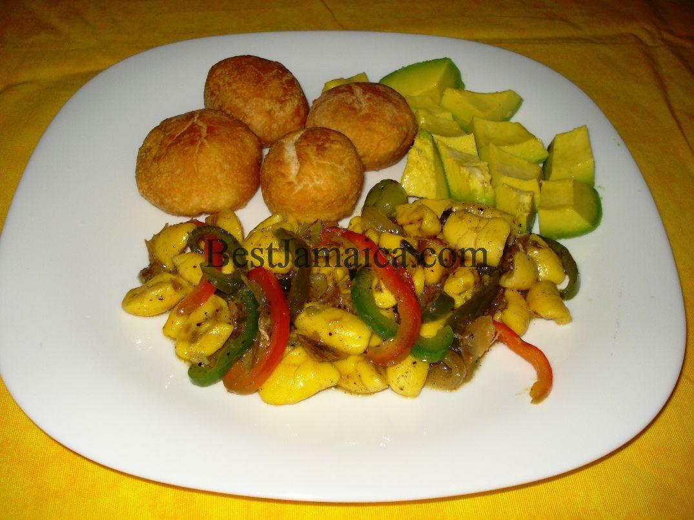 Pin ackee and saltfish rice peas jamaica cake on pinterest for Jamaican salt fish