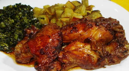 Honey Jerk Chicken